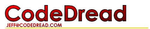 CodeDread MastHead Graphic