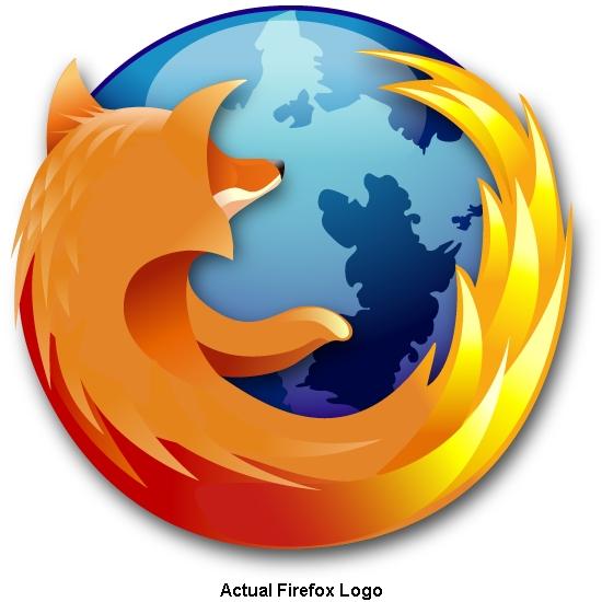 Actual Firefox Logo