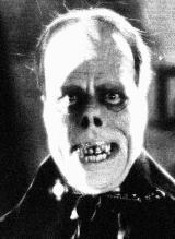 Lon Chaney Sr as the Phantom in the 1925 silent film The Phantom Of The Opera