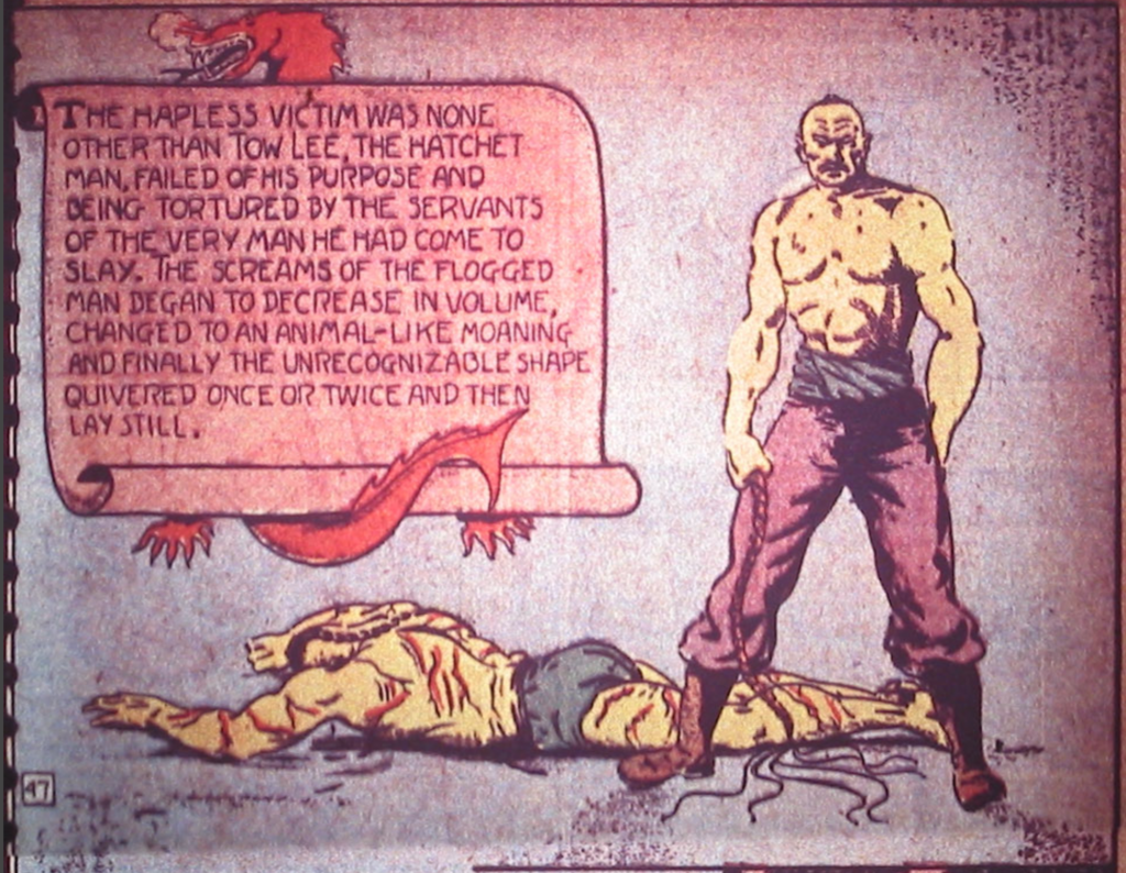 Claws of the Red Dragon from Detective Comics #3, April 1937