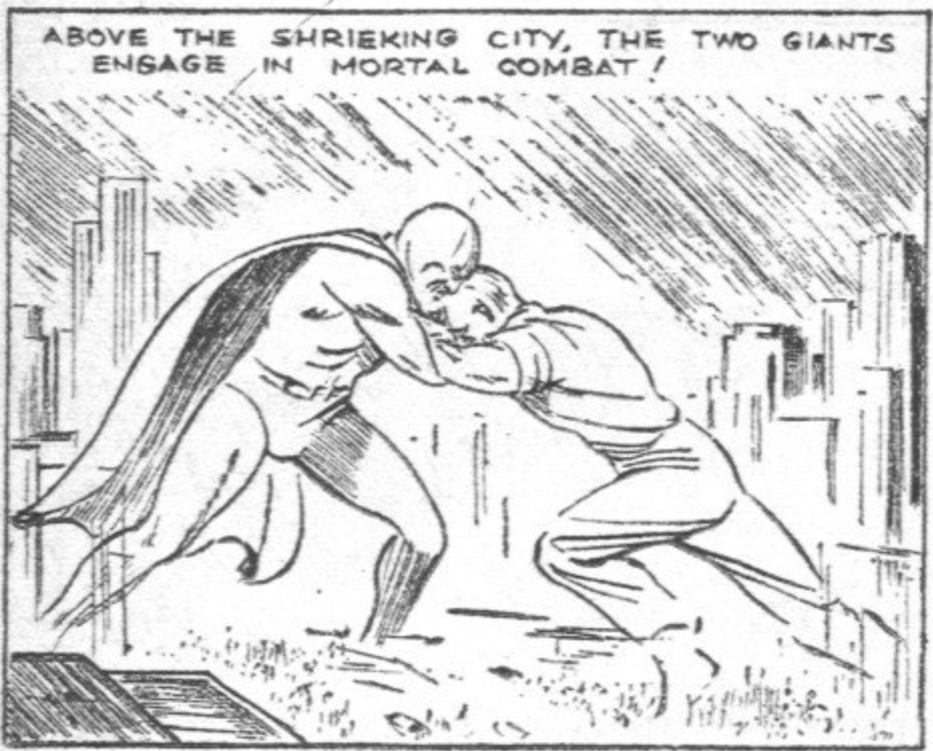 Dr. Mystic from Comics Magazine #1 (Centaur Publications), 1936