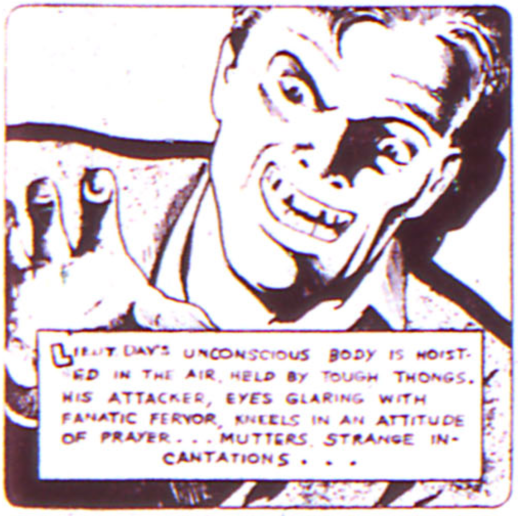 "From Doctor Occult, Ghost Detective in ""More Fun #10"", 1936"