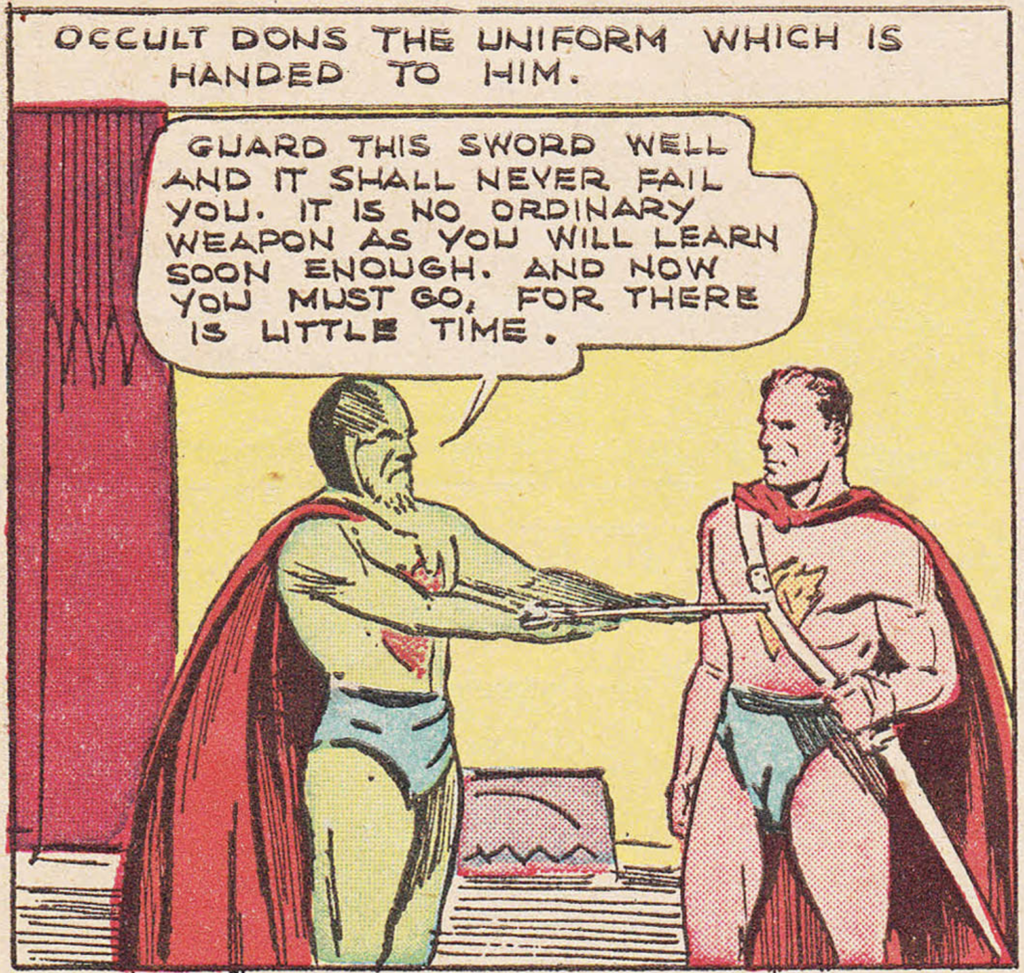 Doctor Occult from More Fun Comics #14, August 1936