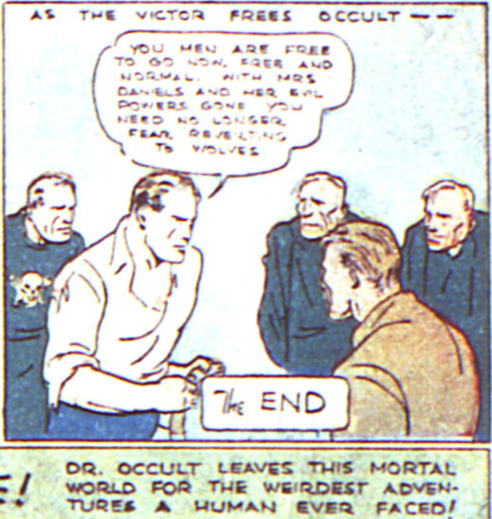 Doctor Occult from More Fun #13, 1935