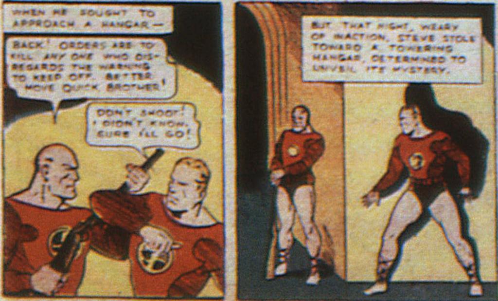 Federal Men from New Comics #9, September 1936