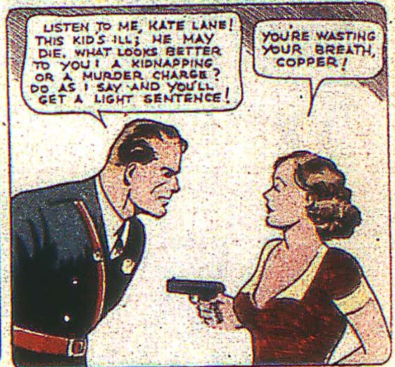 Federal Men from New Comics #2, December 1935.