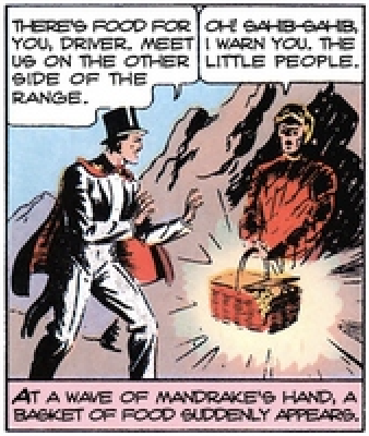 Mandrake the Magician, from King Comics #4, June 1936