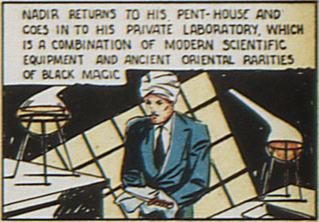 Nadir, the Master of Magic, from New Adventure #17, June 1937