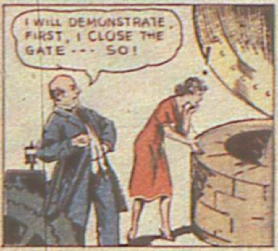 Sandra of the Secret Service, from More Fun Comics #8, 1936