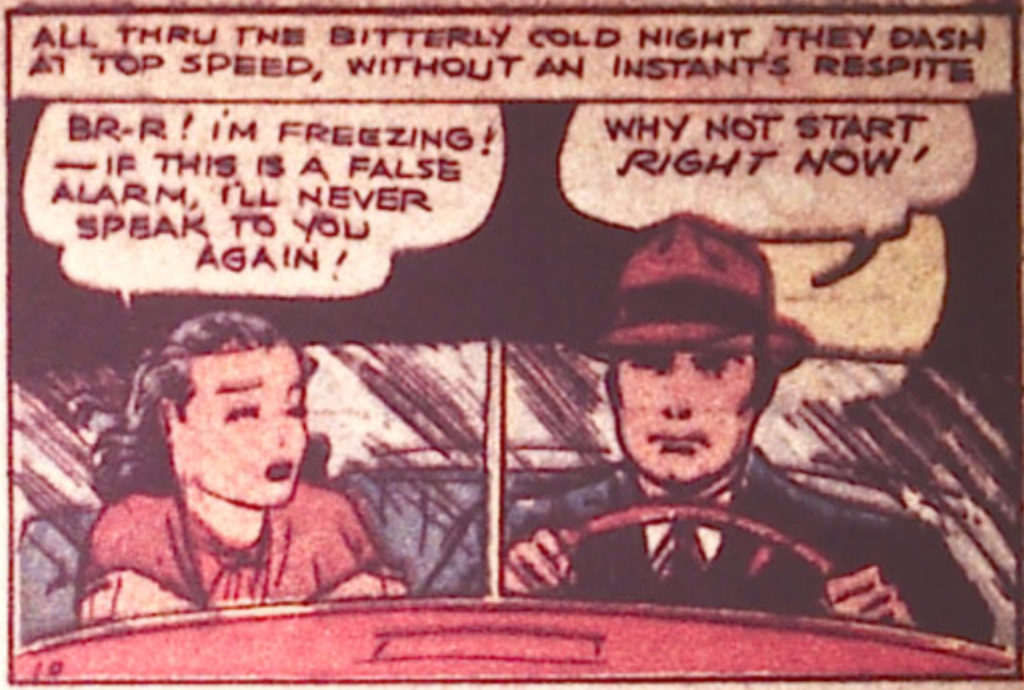 Spy from Detective Comics #14, March 1938