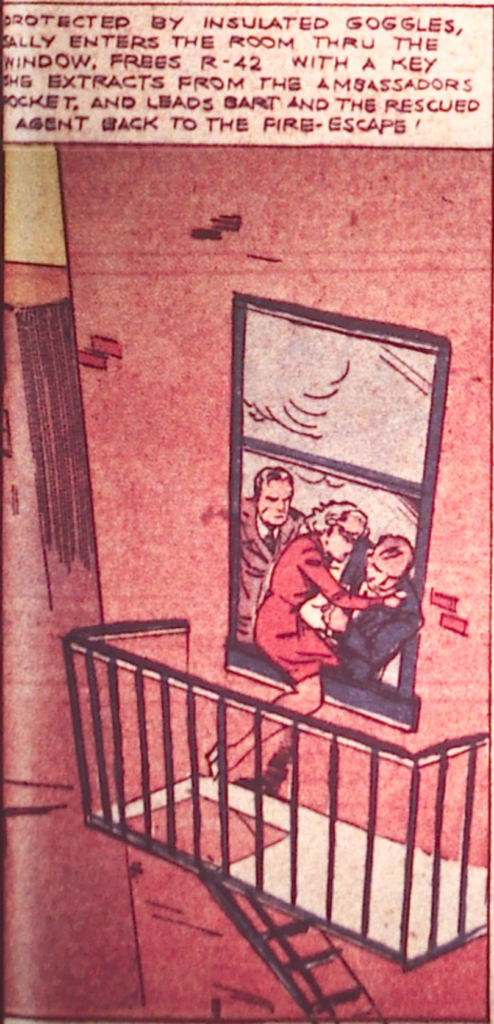 Spy from Detective Comics #9, October 1937
