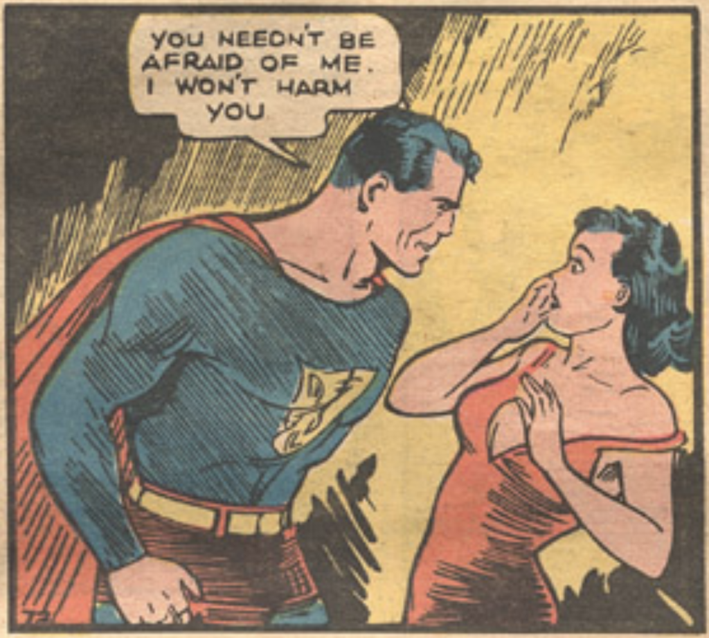 Superman from Action Comics #1, May 1938