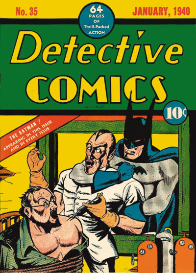 The cover of Detective Comics #35