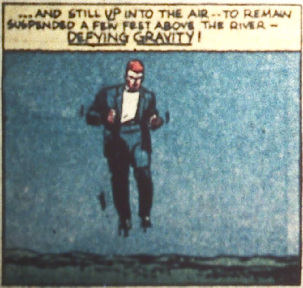 A panel from the Spectre story in More Fun Comics #52, January 1940