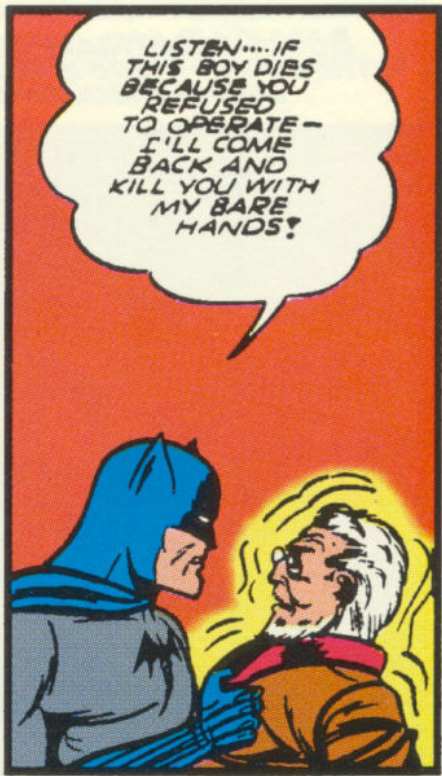 Another panel from Batman #5, April 1941