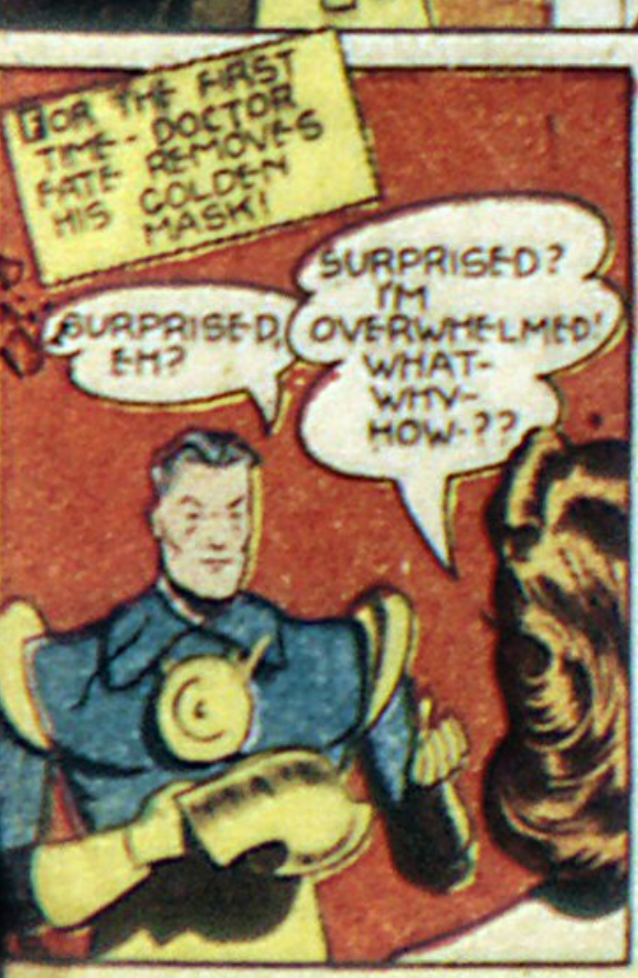 A panel from More Fun Comics #66, February 1941