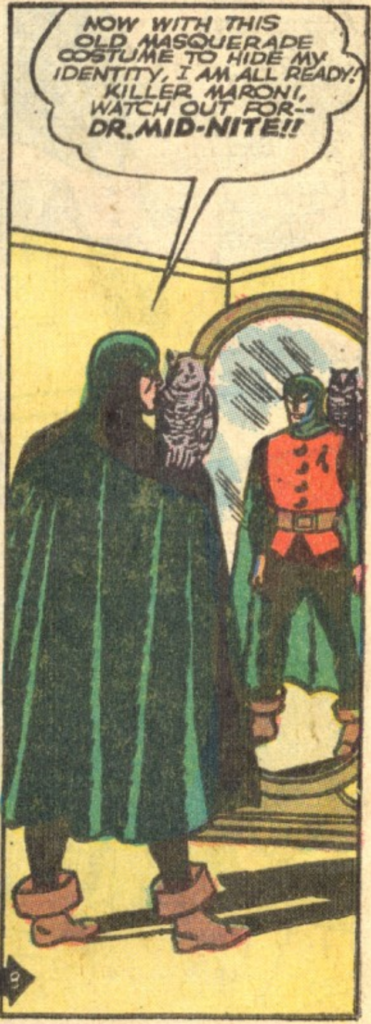 A panel from All-American Comics #25, February 1941