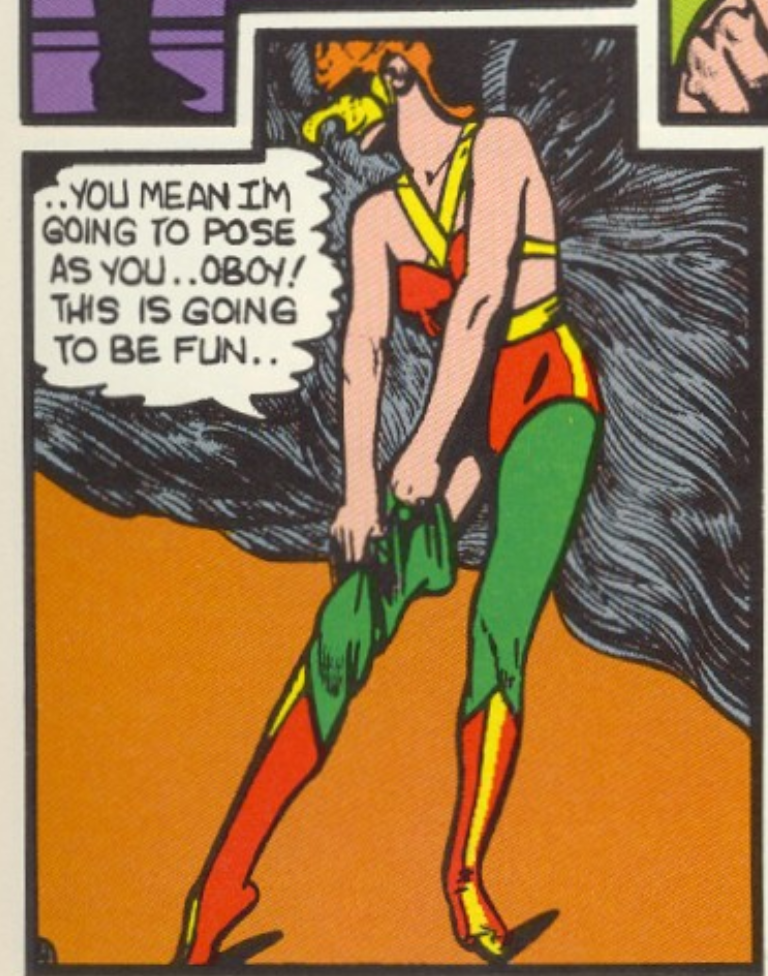 A panel from All-Star Comics #5, April 1941