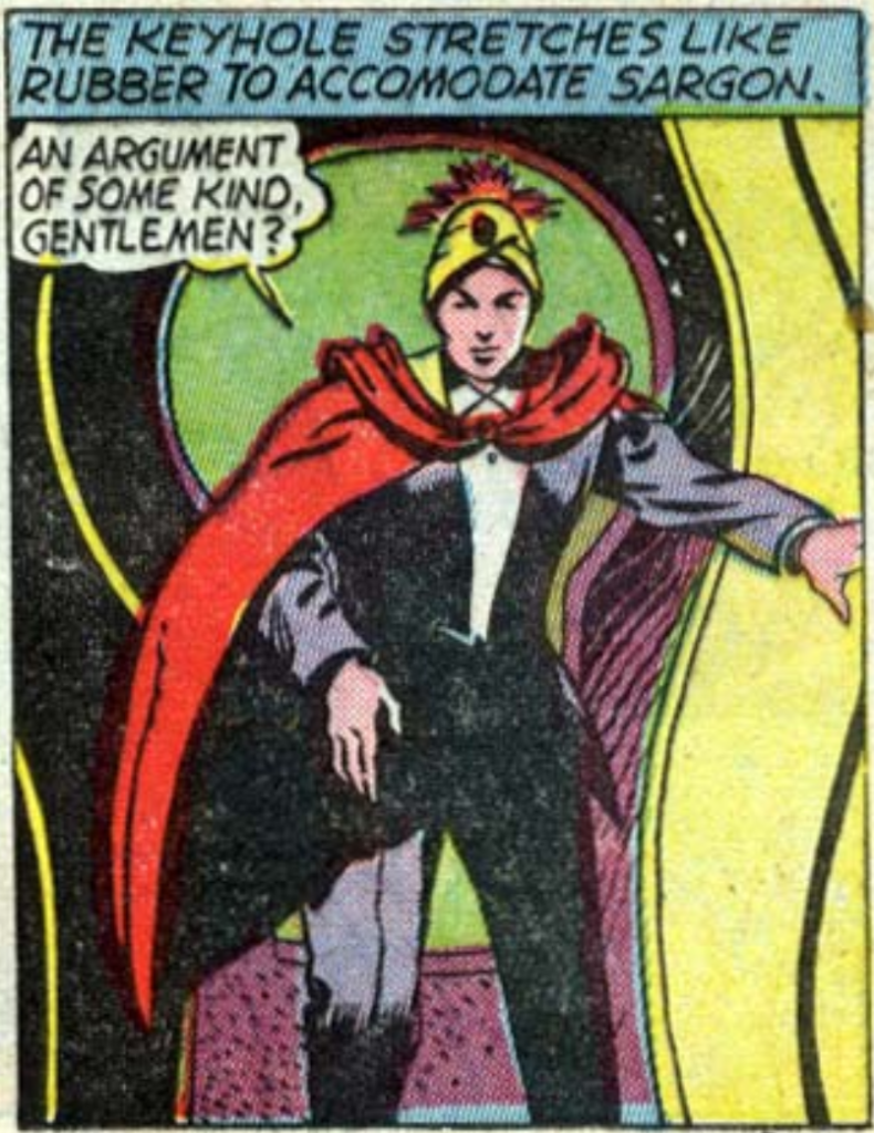 A panel from All-American Comics #26, March 1941