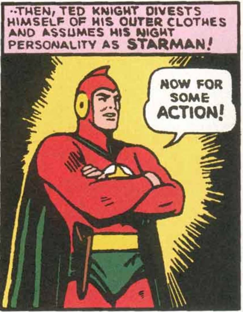 A panel from Adventure Comics #61, March 1941