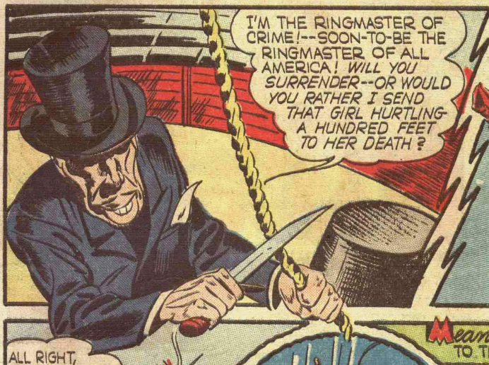 A panel from Captain America #5, May 1941