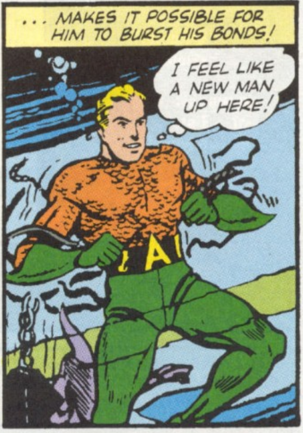 A panel from More Fun Comics #73, September 1941