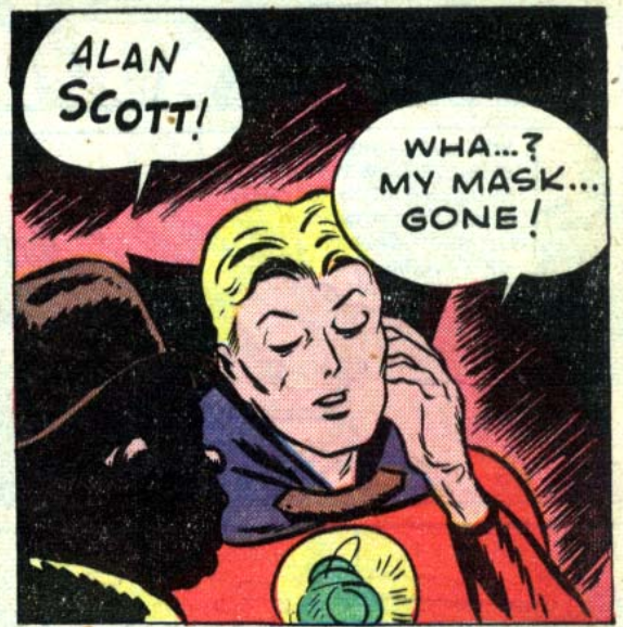 A panel from All-American Comics #35, December 1941