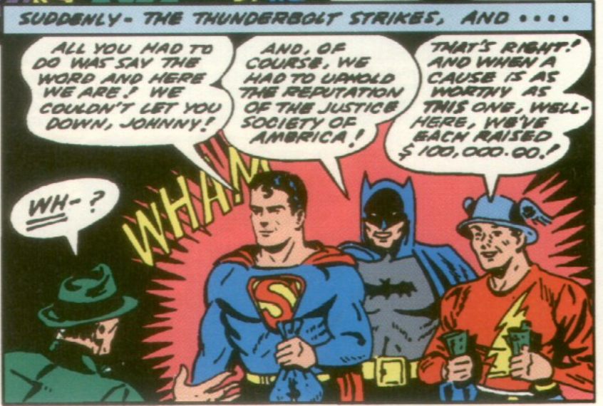 A panel from All-Star Comics #7, August 1941