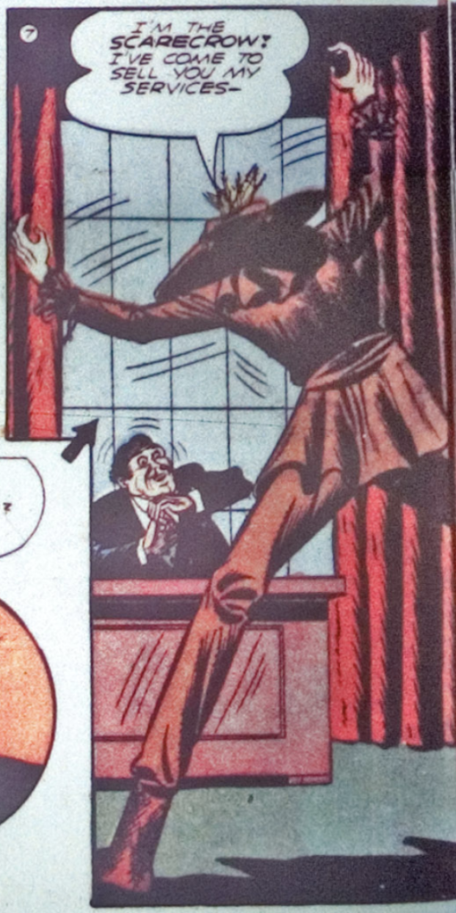 A panel from World's Finest Comics #3, August 1941