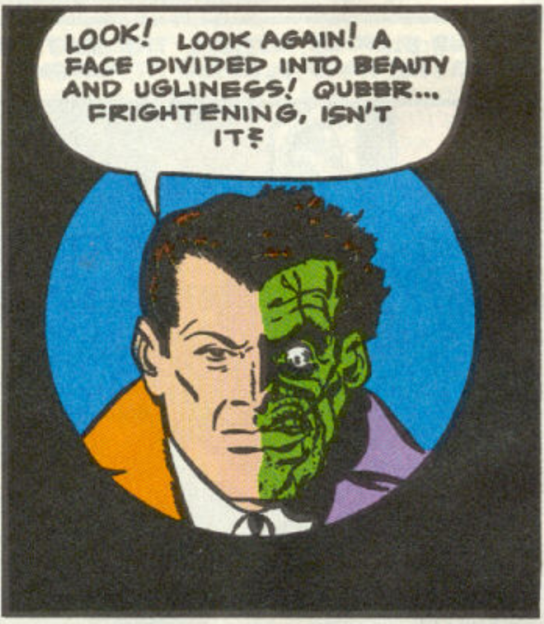 A panel from Detective Comics #66, June 1942
