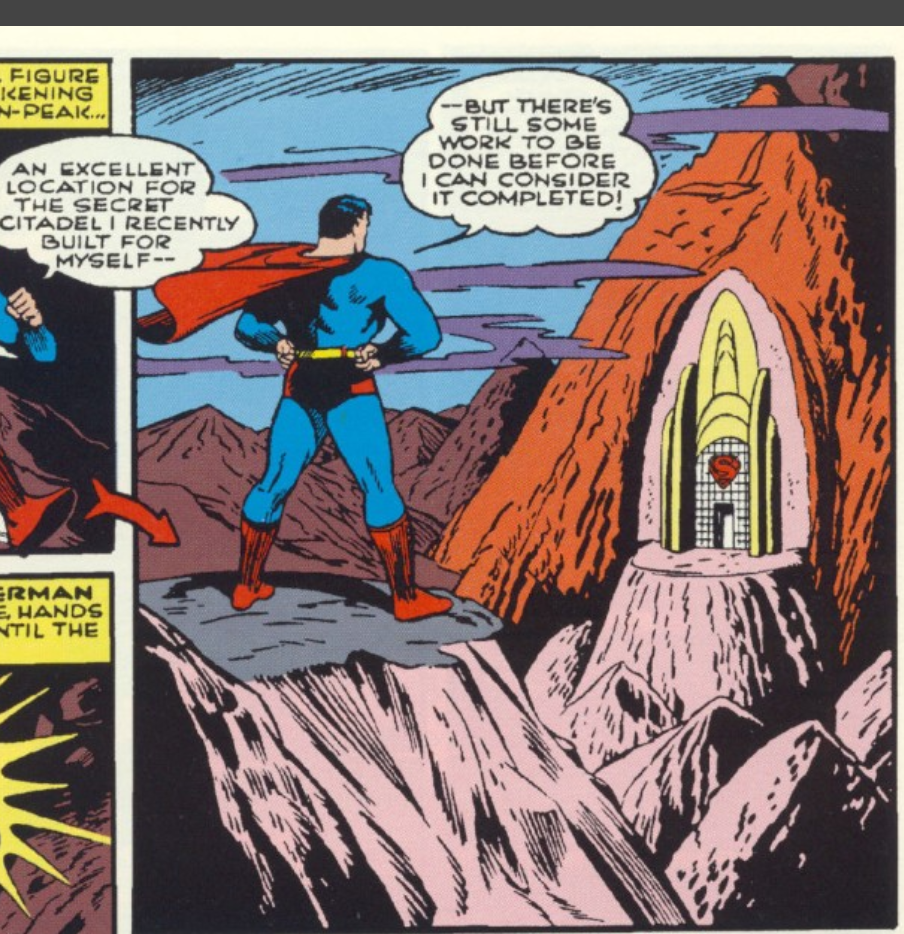 A panel from Superman #17, May 1942