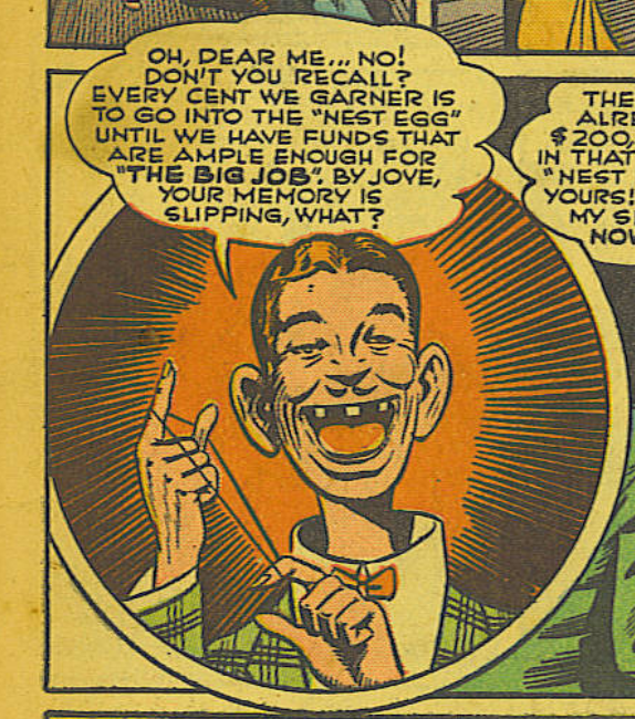 A panel from Action Comics #51, June 1942