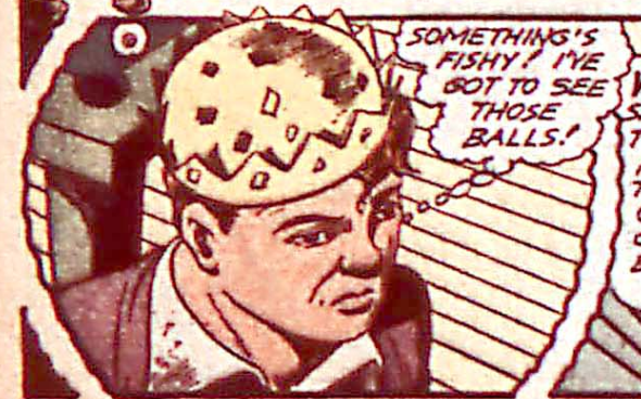 A panel from Captain America Comics #18, July 1942