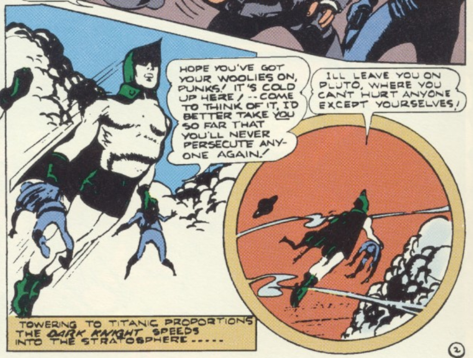A panel from the Spectre story in All-Star Comics #14, October 1942