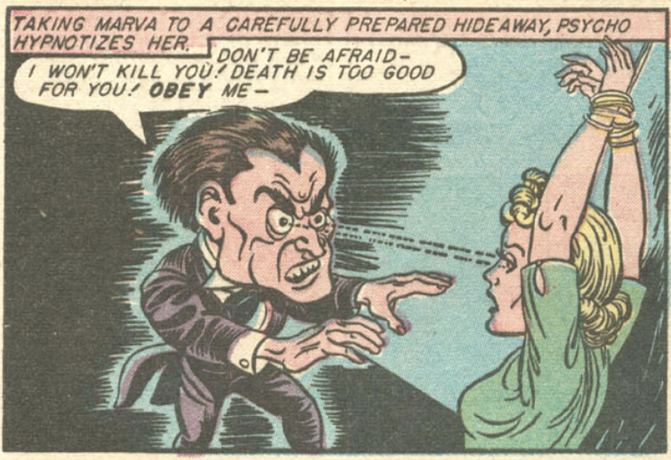 A panel from Wonder Woman #5, May 1943