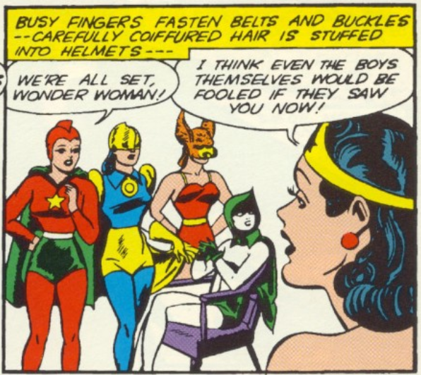 A panel from All-Star Comics #15, December 1942