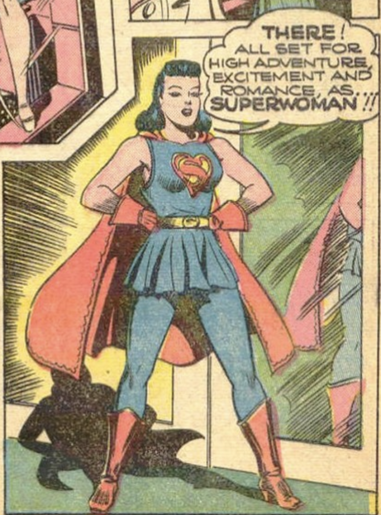 A panel from Action Comics #60, March 1943