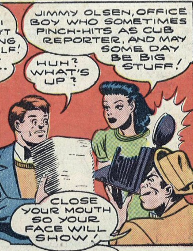 A panel from World's Finest Comics #13, January 1944