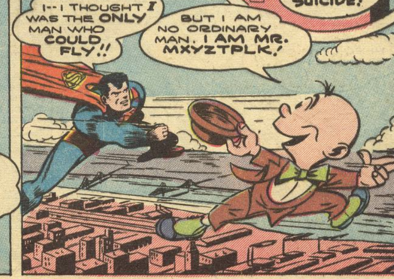 The original Mr. Mxyztplk from Superman #30, June 1944