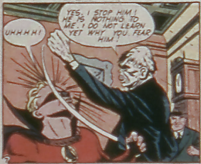 A panel from All-American Comics #61, August 1944