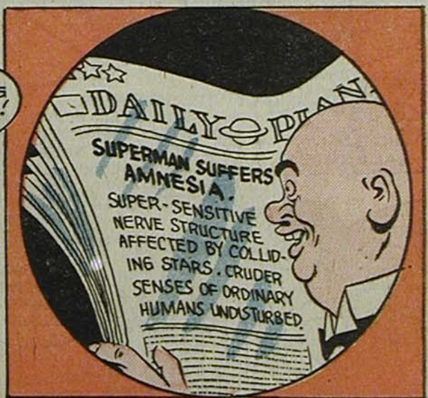 A panel from Superman #29, May 1944