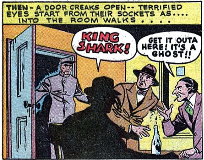 A panel from All-American Comics #67, May 1945