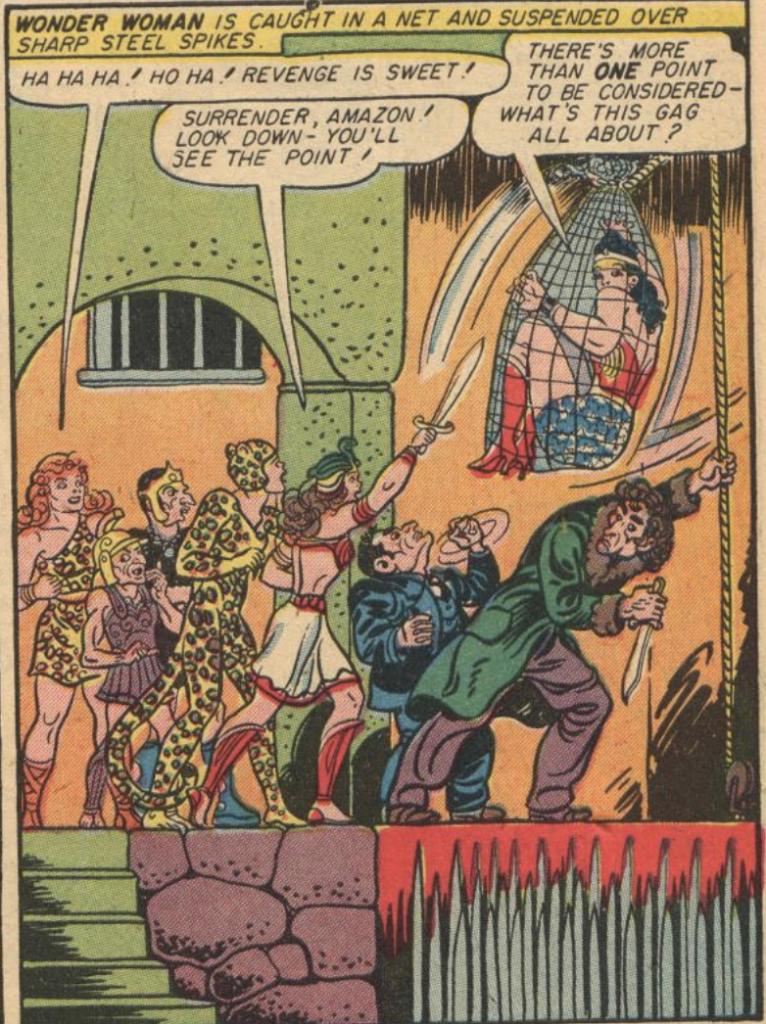 A panel from Sensation Comics #36, October 1944
