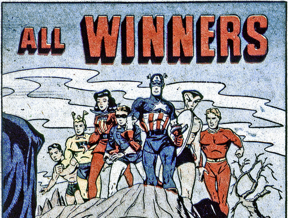 A panel from All-Winners Comics #19, July 1946