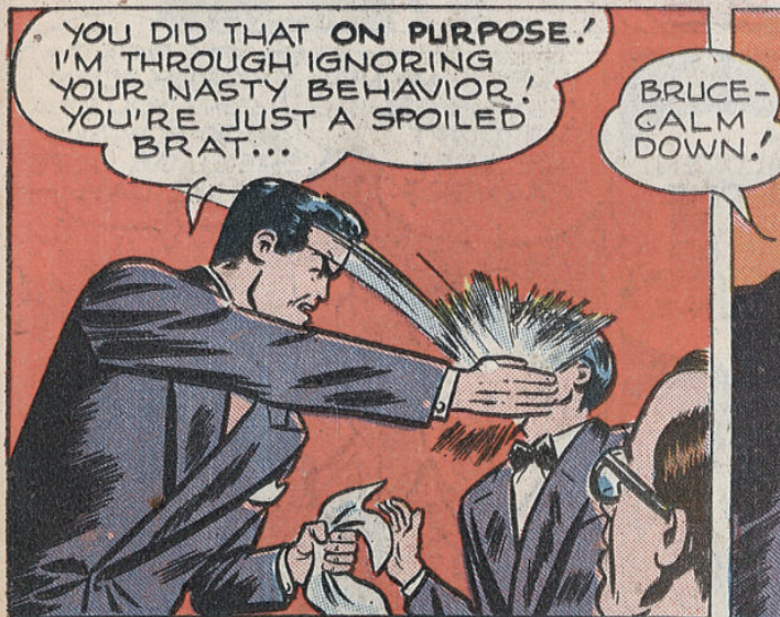 A panel from World's Finest #24, July 1946