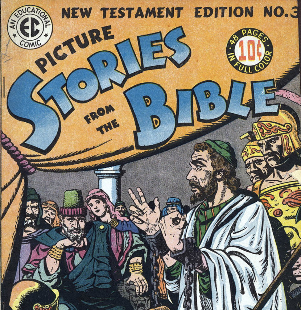 The cover of Picture Stories from the Bible #3, June 1946