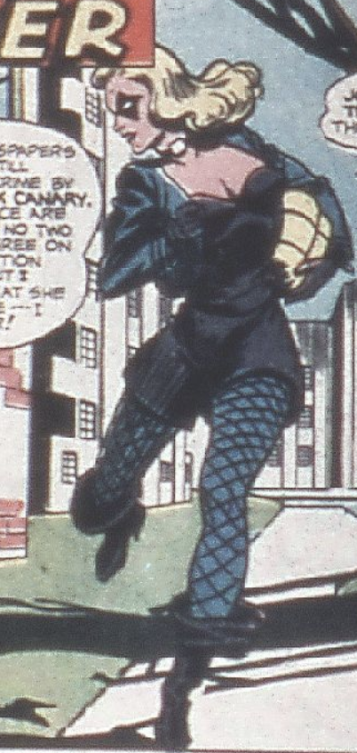 A panel from Flash #87, July 1947
