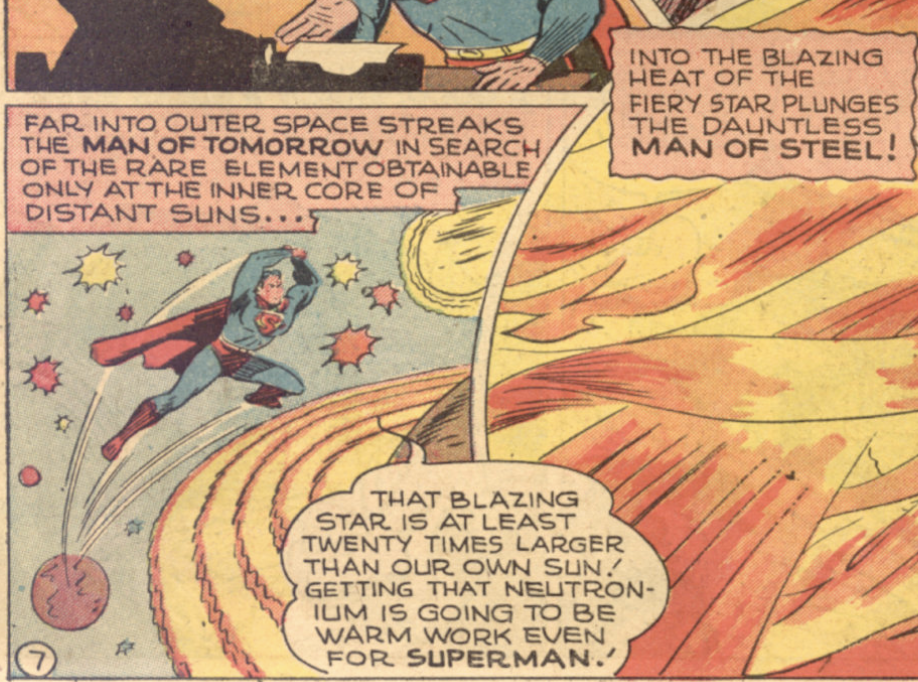A panel from World's Finest #29, May 1947