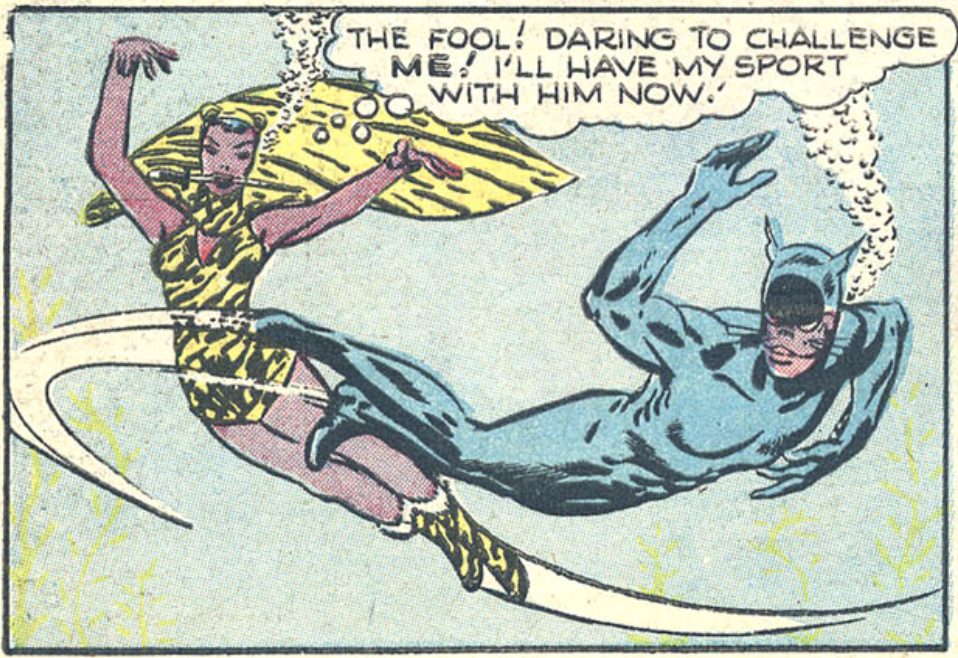 A panel from Sensation Comics #68, June 1947