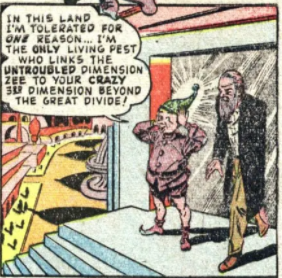 A panel from Captain America #67, May 1948